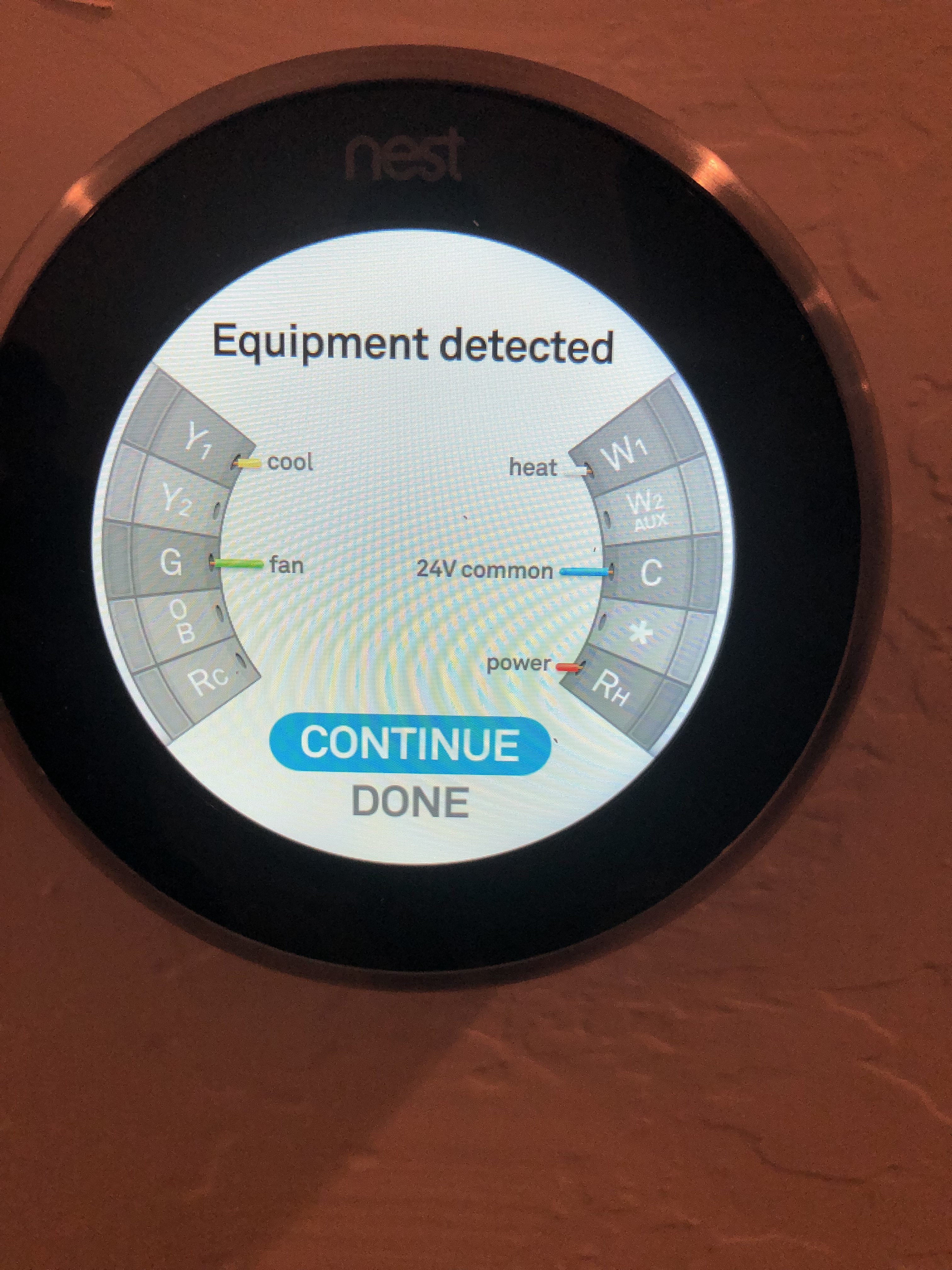 Nest Gen 3 Learning Thermostat Common Wire